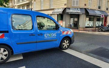 Levallois, ce dimanche. Un incident sur le poste source Enedis de la rue Danton à Levallois, a entrainé une coupure d'électricité de plus 4 heures de toute la ville mais aussi de certains quartiers de Neuilly et Courbevoie. LP/A.-S.D.