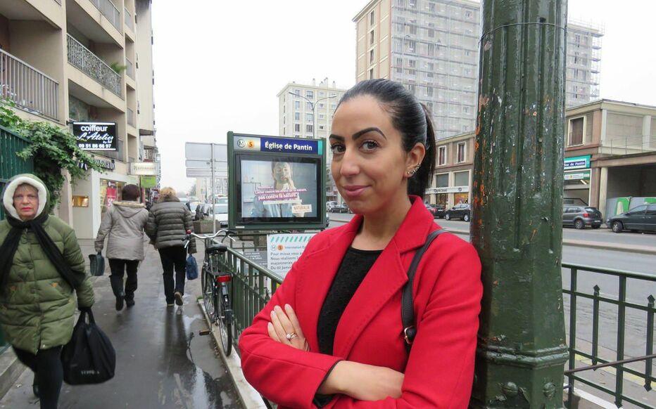 Pantin, ce vendredi. Faïza Guène a grandi et habite toujours à Pantin, dans le quartier des Courtillières.