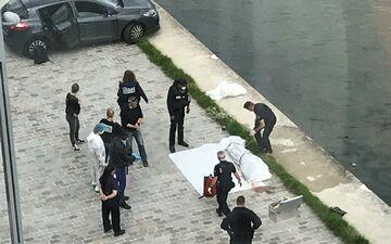 Pantin, mercredi. Un corps a été repêché dans le canal de l'Ourcq. DR.