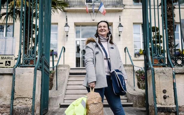 Pontoise (Val-d'Oise), le 8 avril 2021. «On m'a proposé d'être sur la liste [pour les municipales], j'ai dit : maire-adjointe ou rien», explique Laëtitia Dewalle. LP/Arnaud Dumontier