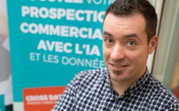 «On ne veut pas des candidats seulement technos», affirme Jean-Charles Rongère, associé et directeur marketing de Cross Data, société de services en intelligence artificielle. DR