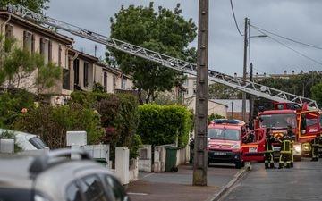 Une mère de famille est morte après avoir été brûlée vive en pleine rue ce mardi, à Mérignac (Gironde). PHOTOPQR/SUD OUEST/David Thierry