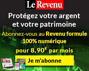 Abonnez vous au Revenu pour 8.90 euros par mois