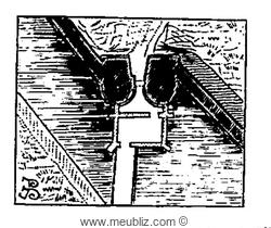 barbacane défendant une porte de ville (1er type).