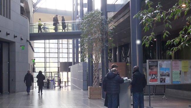 Salle des pas perdus. © Véronique Magnin - Place Gre'net