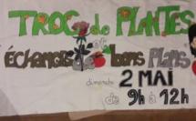 TROC DE PLANTES LE DIMANCHE 2 MAI 2021