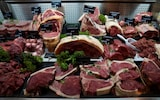 Butcher meat