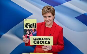 BRITAIN-SCOTLAND-POLITICS-ELECTION-SNP