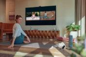 Google Duo disponible sur certains Smart TV Samsung 2021