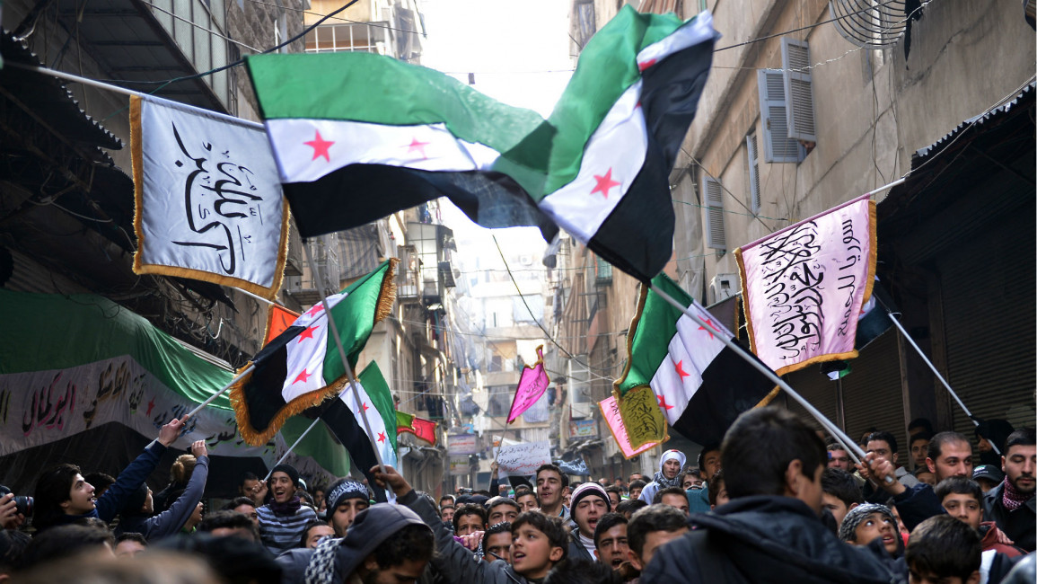 Syria Rebel Flags
