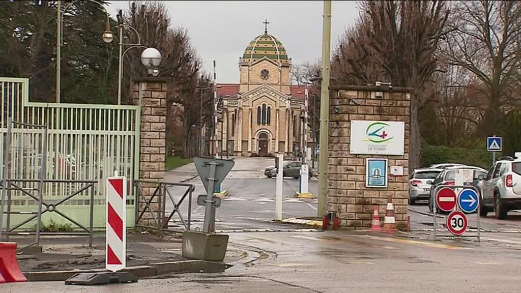 Le centre hospitalier du Vinatier où Nordahl Lelandais a demandé à être transféré, le 16 février, dans une unité spécialement aménagée pour les détenus. / © F3 RA