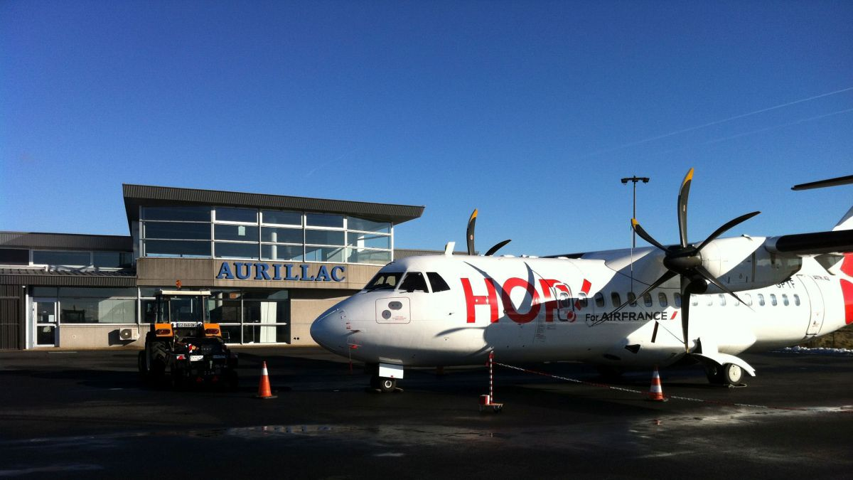 L'avion Paris-Aurillac victime d'une avarie en plein vol