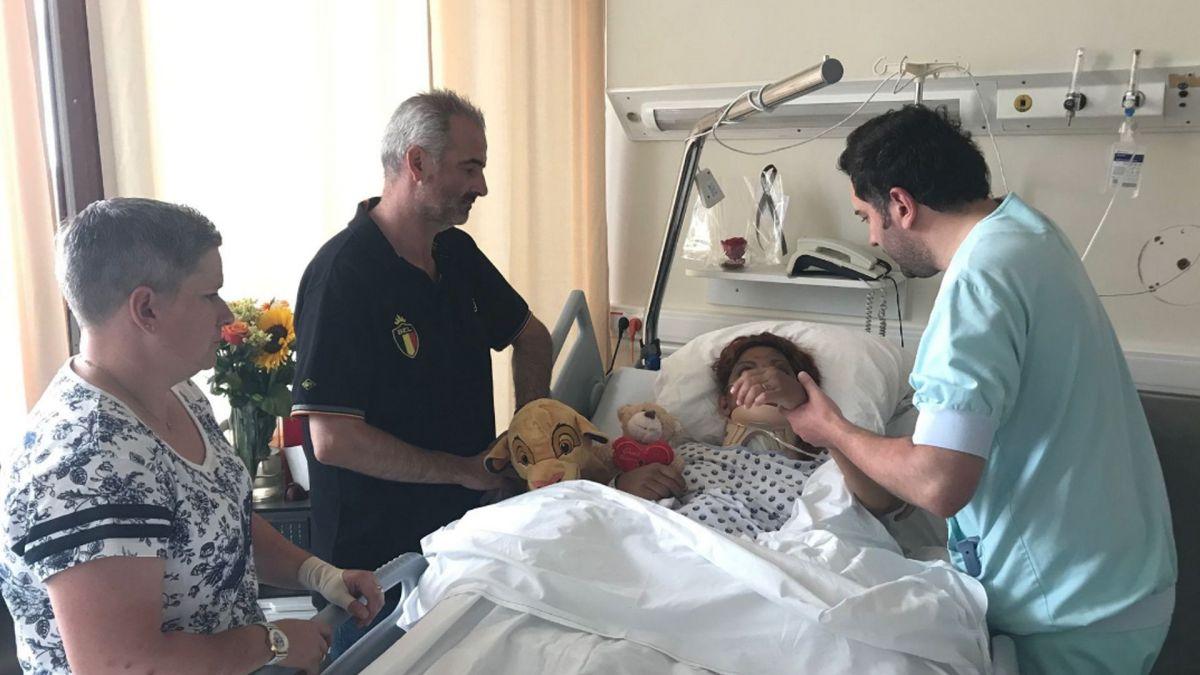 VIDEO. Belgique : la femme qui a survécu après avoir passé 6 jours dans sa voiture accidentée témoigne