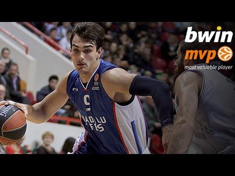 bwin MVP for November: Dario Saric, Anadolu Efes Istanbul