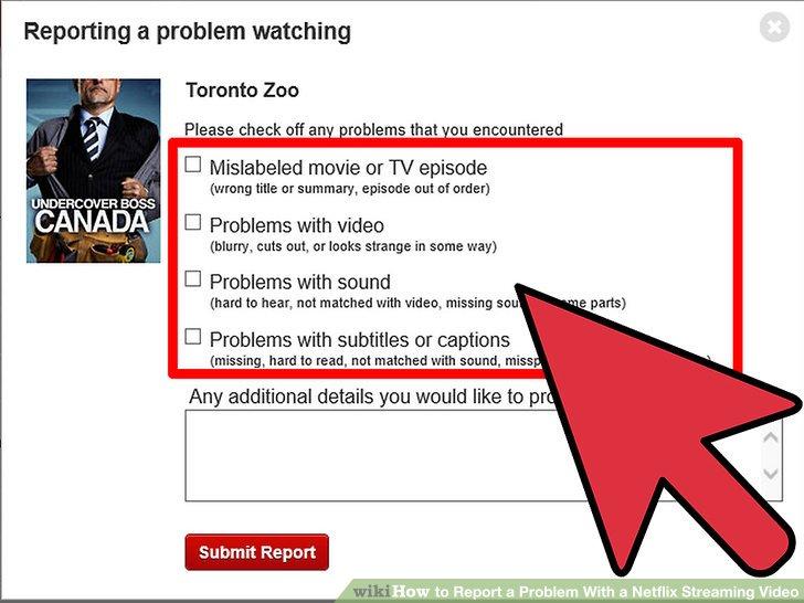 Netflix problem