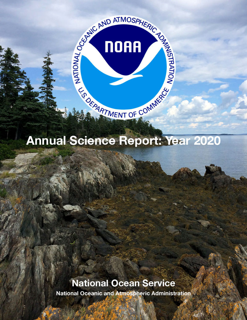 cover of the 2020 NOS Science Report