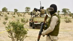 Des soldats nigériens en patrouille. (Photo d'illustration)