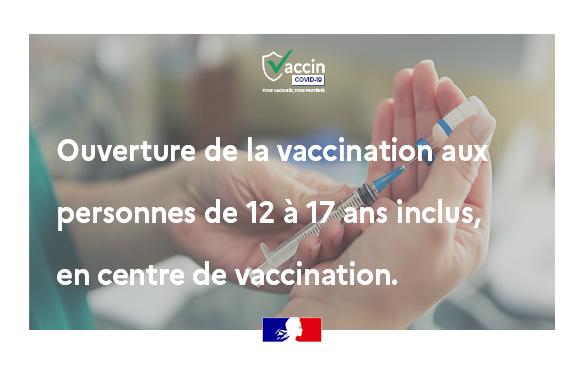 La vaccination des mineurs Qui peut être vacciné ? Sont concernées dès maintenant toutes les (...)