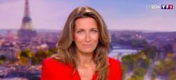 Audiences 20h: Le journal d'Anne-Claire Coudray sur TF1 seul programme à dépasser les 5 millions de téléspectateurs - Laurent Delahousse à 4,1 millions sur France 2
