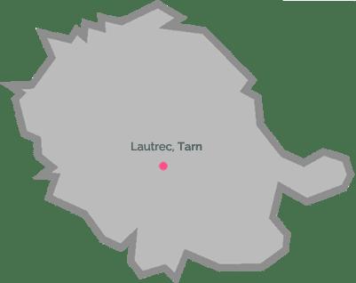 Carte Lautrec