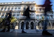 Una veduta della sede della Banca d'Italia a Palazzo Koch, Roma (ANSA)