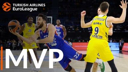 Round 2 MVP: Vasilije Micic, Efes