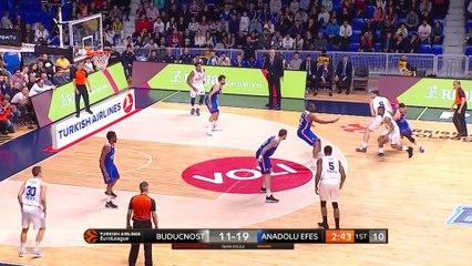 EuroLeague 2018-19 Highlights Regular Season Round 28 video: Buducnost 84-91 Efes