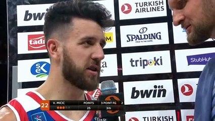 Post-game interview: Vasilije Micic, Efes