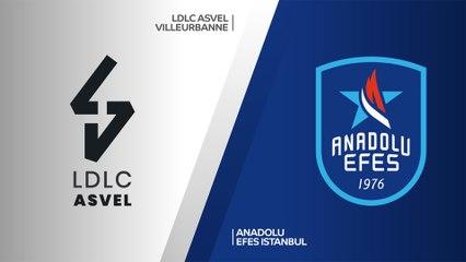 EuroLeague 2019-20 Highlights Regular Season Round 9 video: ASVEL 84-90 Efes