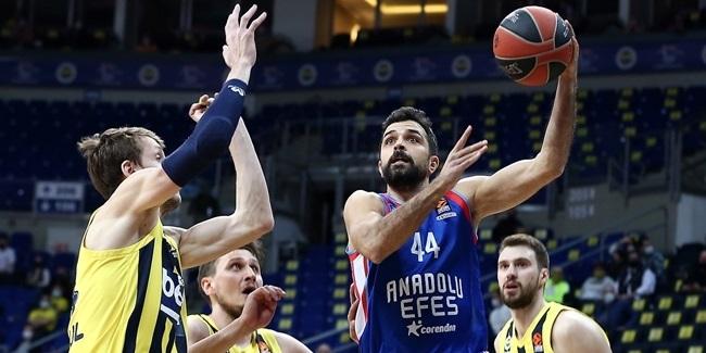 RS Round 26: Fenerbahce Beko Istanbul vs. Anadolu Efes Istanbul