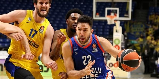 RS Round 23: Maccabi Playtika Tel Aviv vs. Anadolu Efes Istanbul