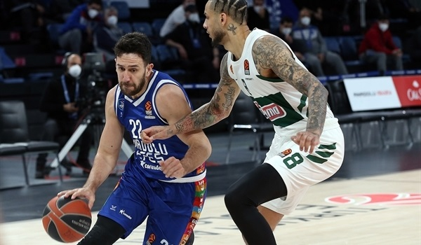 RS31 Report: Efes shuts down Panathinaikos to move closer to playoffs