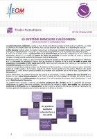 Le système bancaire calédonien, entre maturité et modernisation