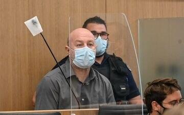 A l'ouverture de son procès en appel, Willy Bardon, accusé du meurtre et du viol d'Elodie Kulik en 2002, a confirmé qu'il plaiderait à nouveau non coupable. AFP/Denis Charlet