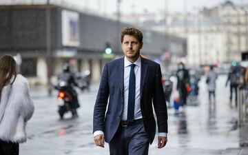 Paris, ce mardi 22 juin 2021. Julien Bayou (EELV) est donc la tête de liste de la gauche pour le second tour des régionales en Ile-de-France. LP/Arnaud Dumontier