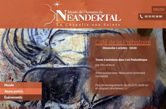 Café Préhistoire avec Pascal Raux à la Chapelle-aux-Saints le 4 octobre 2020
