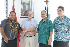 Visite de représentants du Forum du Pacifique à Wallis